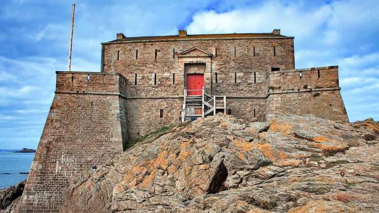 Le fort de l'île de Petit Bé