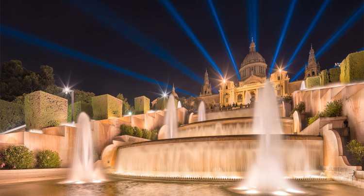 Fontana Magica a Barcellona