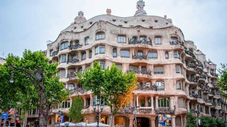 Casa Milà van Gaudí