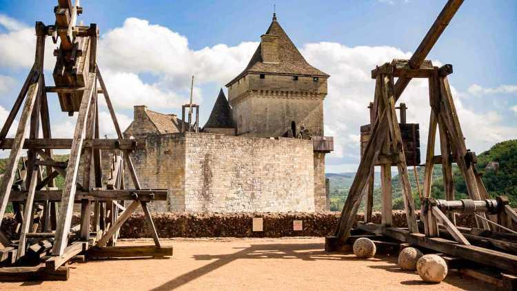 Trébuchet, Château de Castelnaud