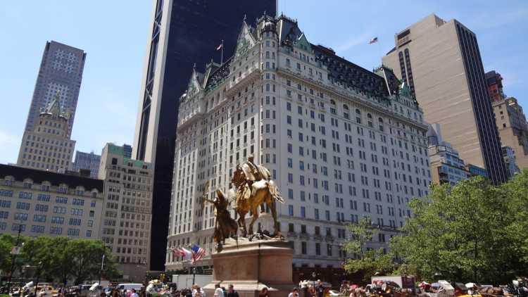 New York connue aussi sous le nom de Big apple