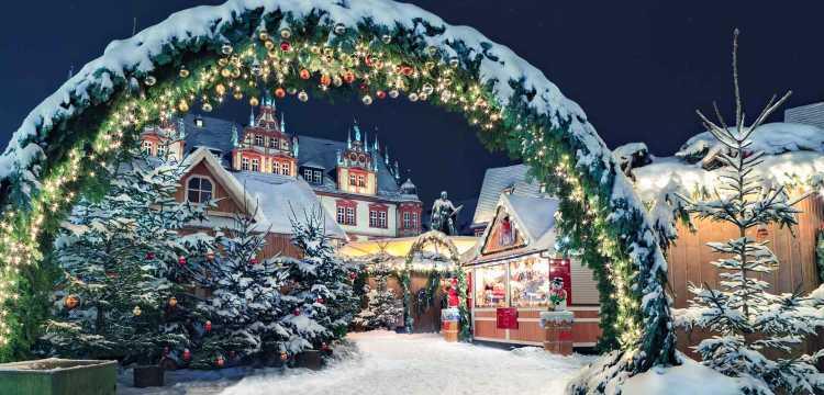 Marché de Noël, Coburg, Allemagne