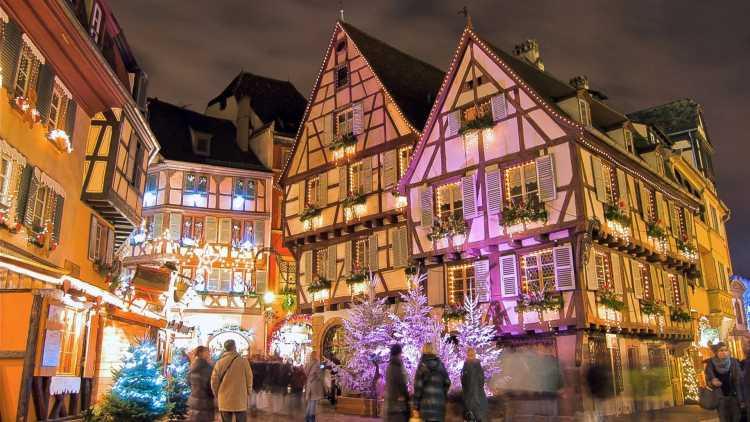 Mercados Navideños en Colmar, Francia