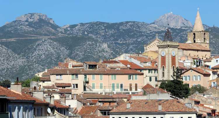 La ville d'Aubagne