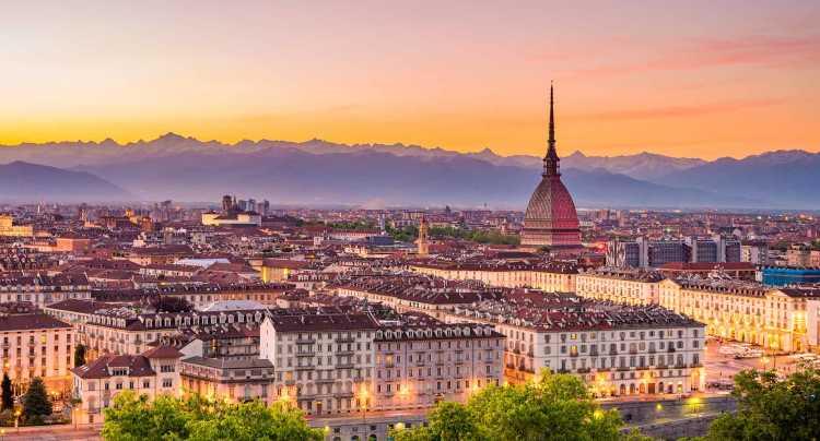 Vista su Torino.