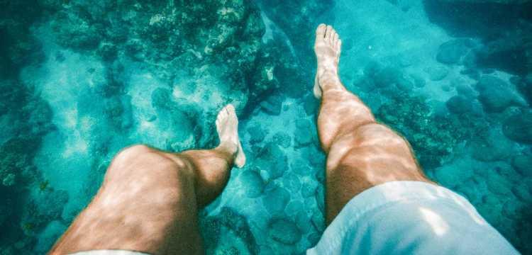 Entre des eaux claires