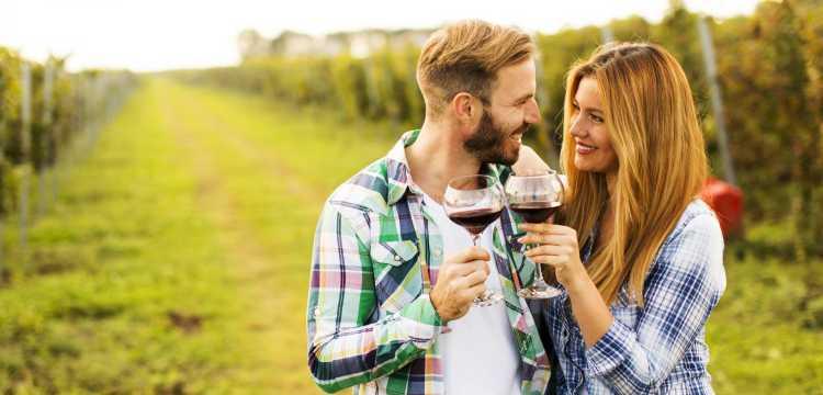 4 idee per un romantico weekend con degustazione inclusa