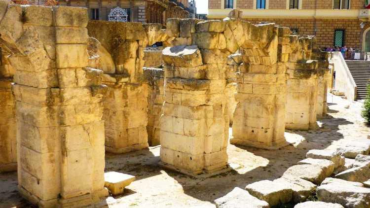 L'Anfiteatro Romano di Piazza Sant'Oronzo
