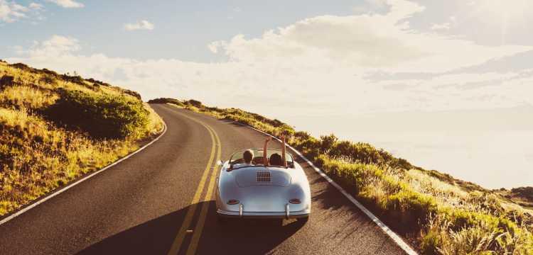 Partir en road-trip sur une route panoramique