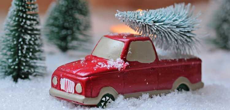 Sapin de Noël fait maison