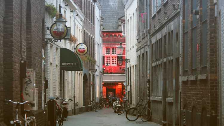 Leuk straatje in Maastricht