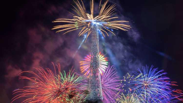 Romantisch Parijs met nieuwjaar