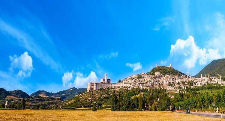 Panorama di Assisi