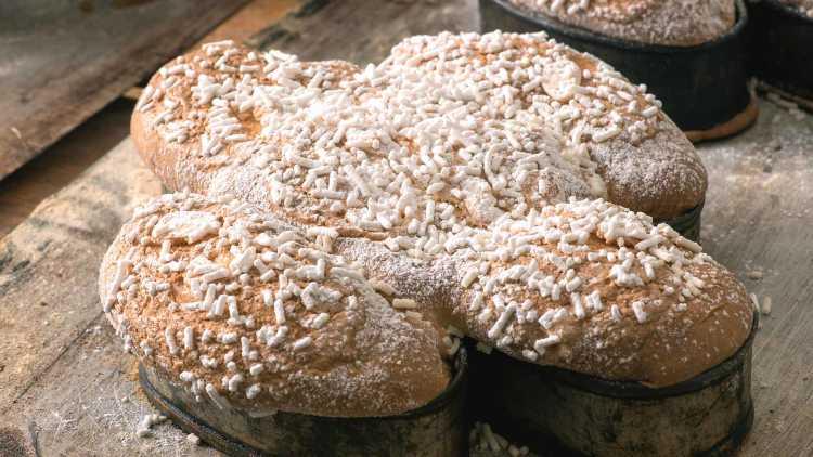 Gâteau de Pâques Colomba