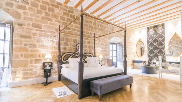 Palacio de Úbeda, habitación