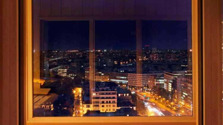 Kamer met uitzicht, The Hotel Brussels
