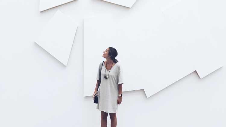 Une visite au Musée d'art contemporain