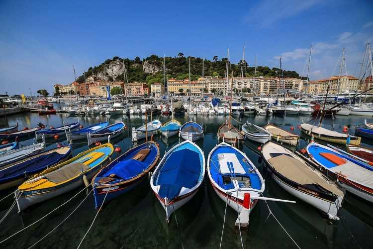 Le port de Nice en amoureux