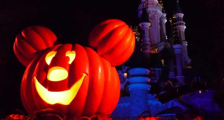 Halloween in het pretpark