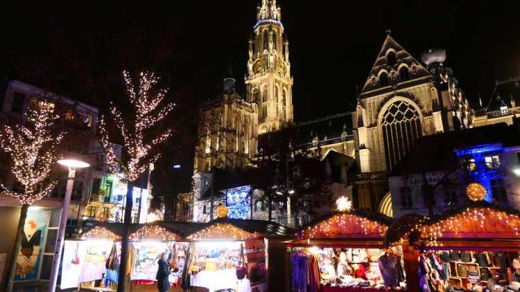 Mercado de Navidad de Amberes