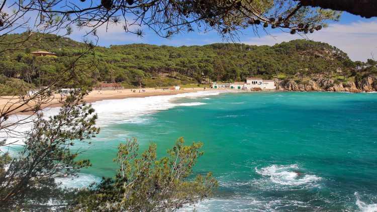 Playa El Castell, Palamós