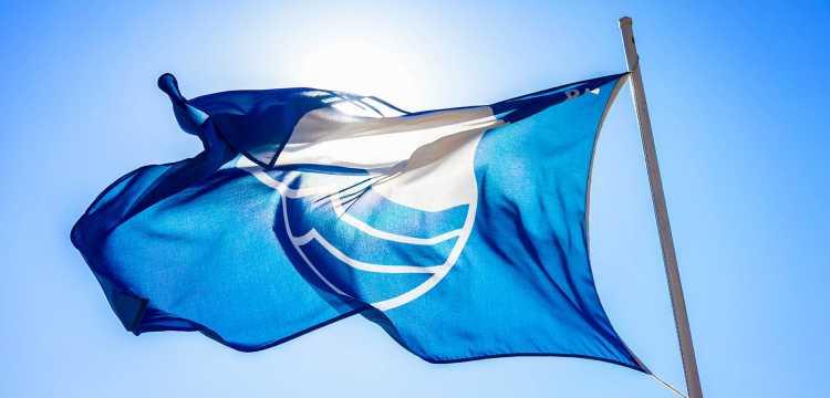 La bandera azul