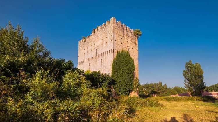 Torre medieval en Espinosa de los Monteros