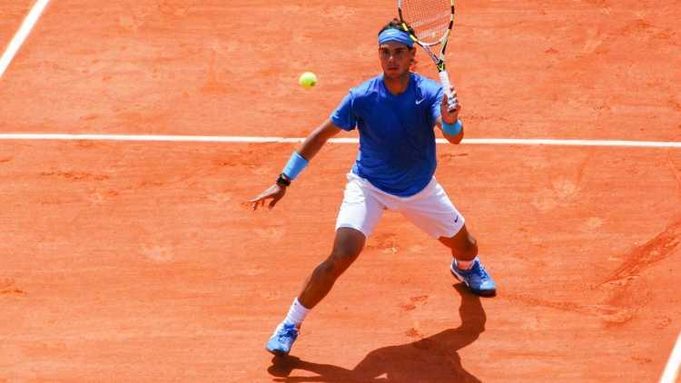 Rafael Nadal à Roland Garros