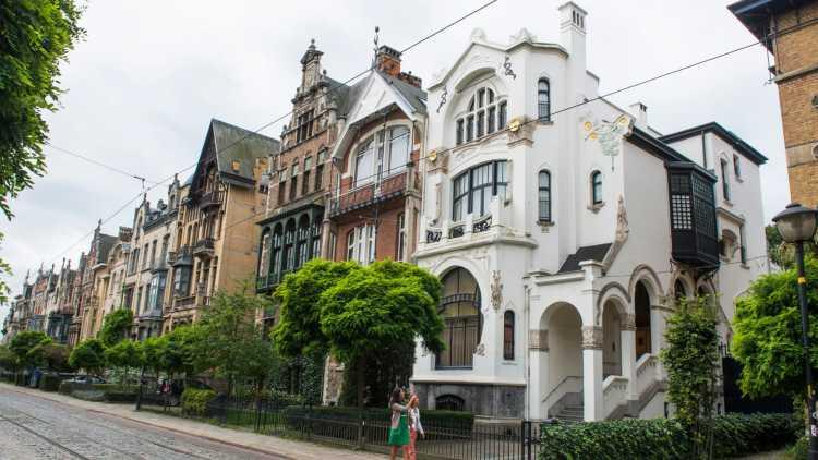 Une façade du Zurenborg