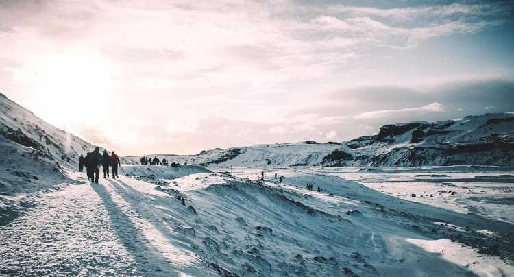 Marche sur neige