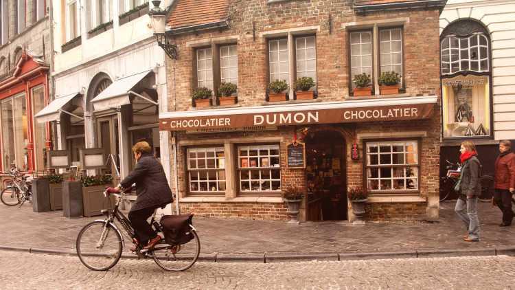 Belgische chocolade: ook in Brugge