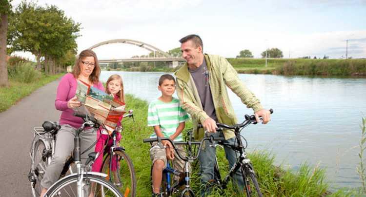 A vélo en Flandre