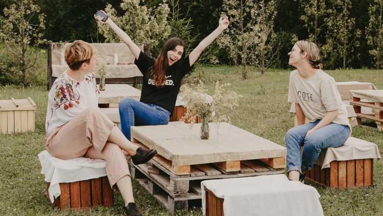 Un pícnic en buena compañía sabe mejor
