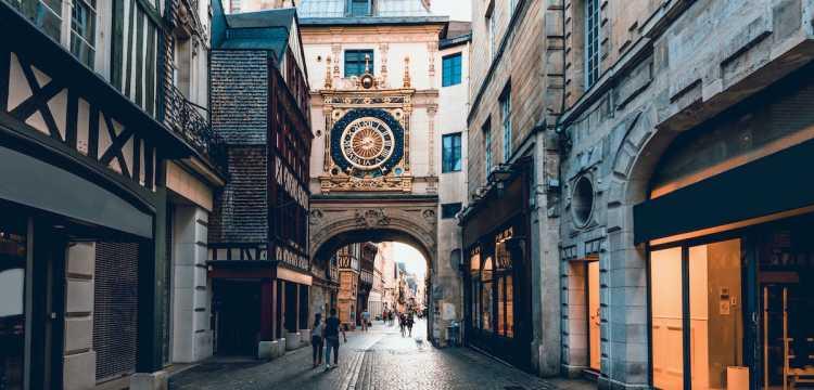 Rue du Gros Horloge Rouen
