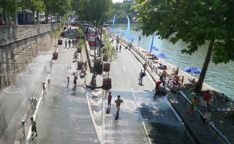 L'île aux brumes, quai de Seine