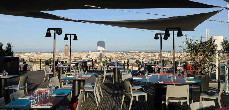 Lyon la Terrasse de l'Antiquaille (restaurant)