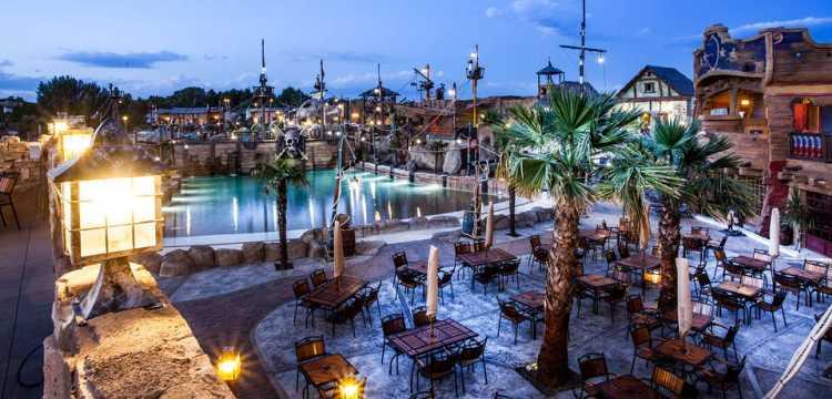 Hotel Cap Pirate, Cap d'Agde, Languedoc-Roussillon, France