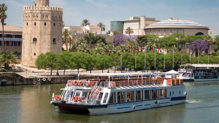 Un minicrucero por el Guadalquivir