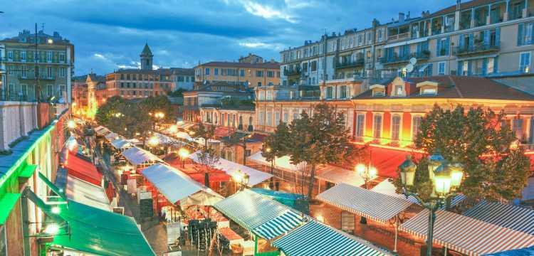 Marché nocturne de Nice