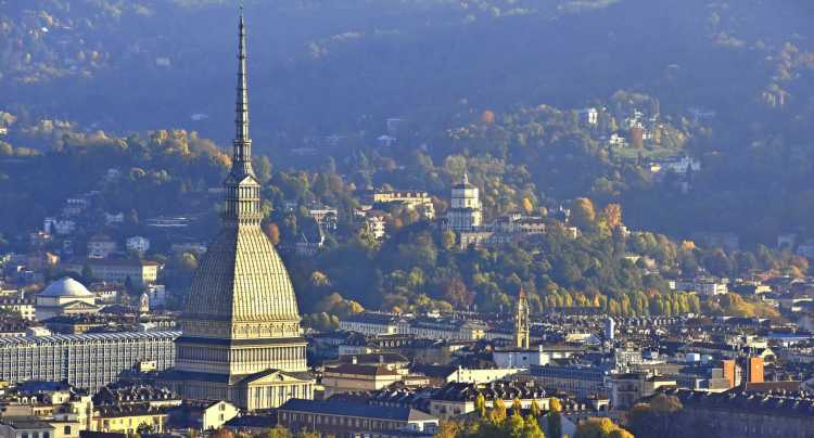 Torino e la sua molle antonelliana