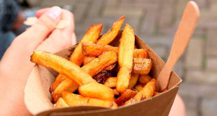 Détail frites