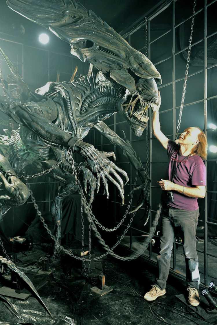Photo Alien - ©Musée des miniatures et du cinéma