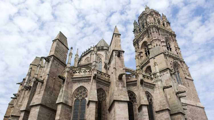 Cathédrale Notre-Dame de Rodez, France