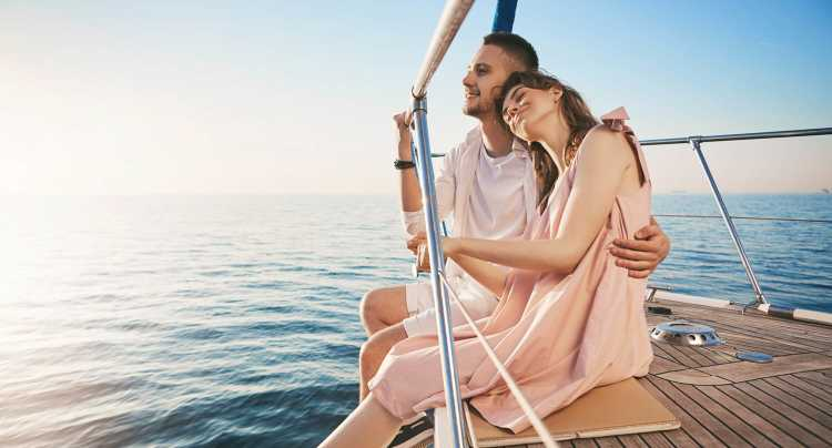 De minicrucero por el mar