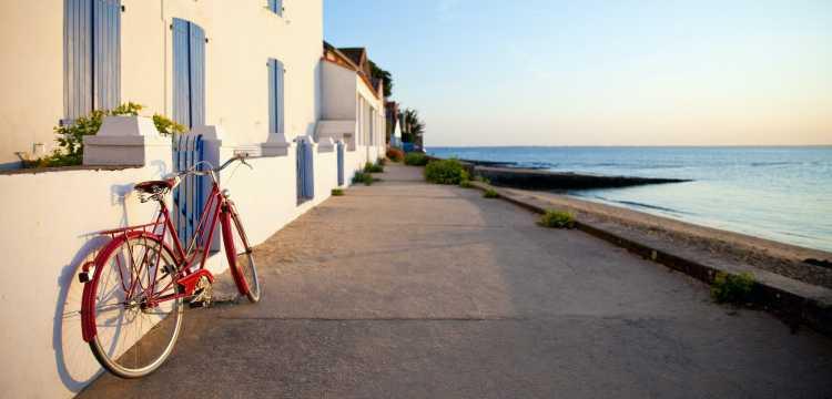 Paysage de Noirmoutier en l'île