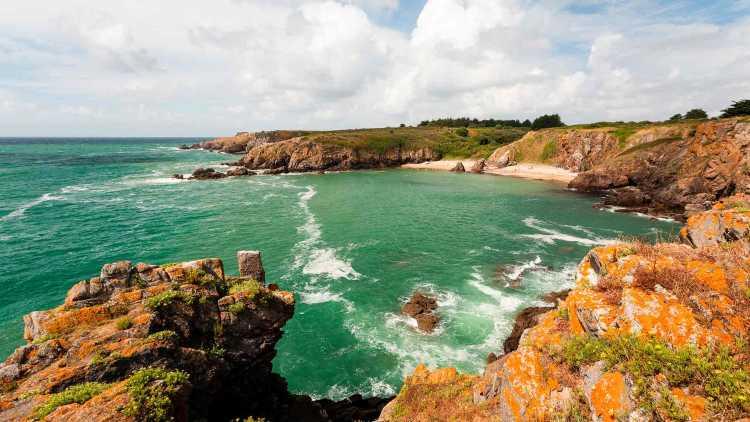La côte sauvage en Vendée