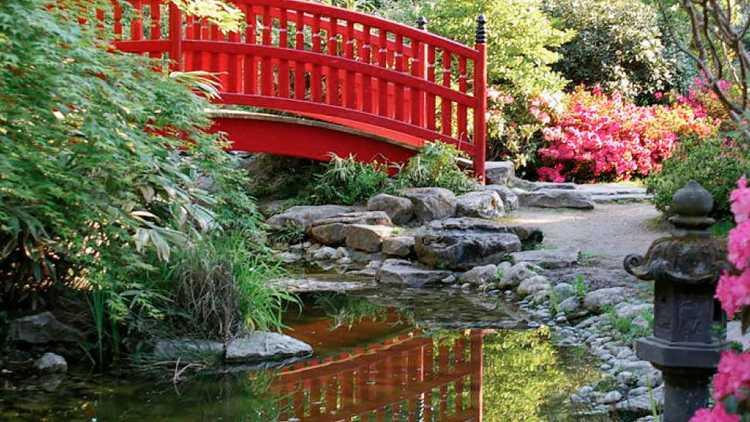 Jardin zen à Rueil-Malmaison