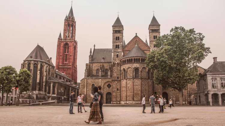 Het Vrijthof in Maastricht