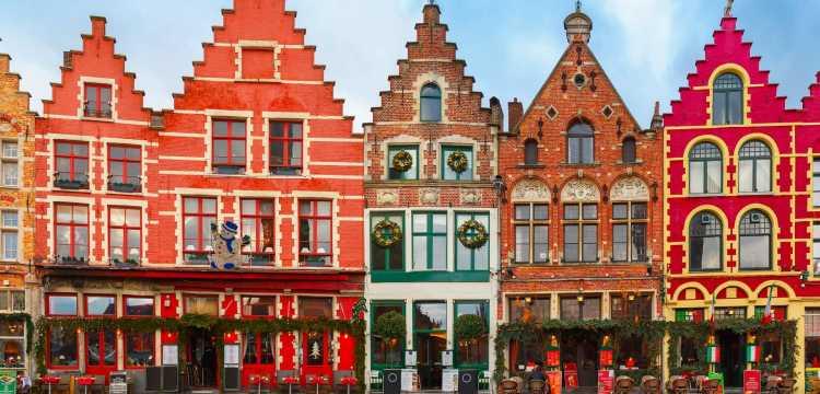 Maisons à Bruges