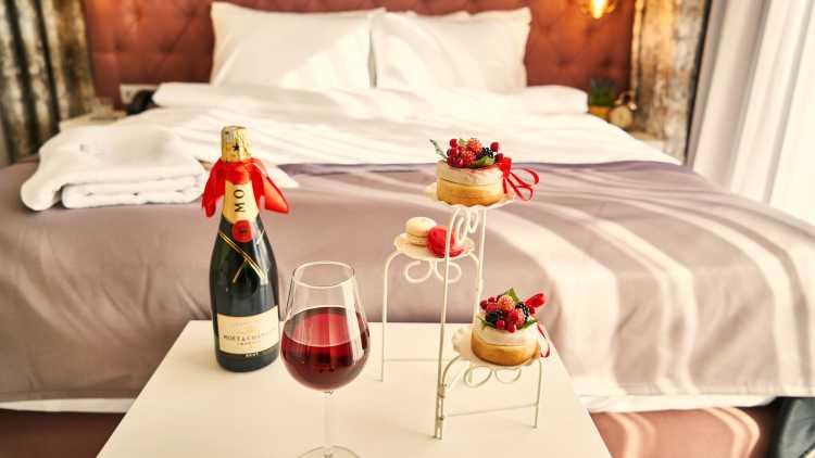 Luxe hotel voor mini-moon